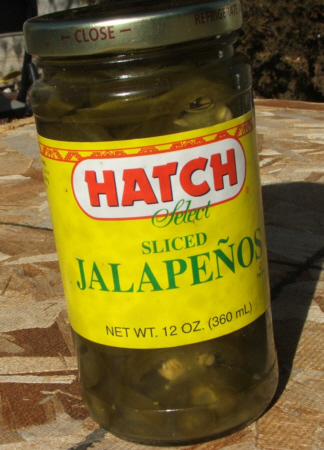 Green Jalapenos, perfect for Nachos!